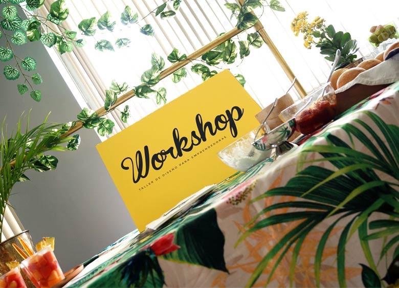 Workshop de diseño para emprendedoras
